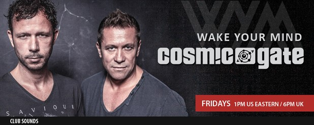 Wake Your Mind with Cosmic Gate on Club Sounds